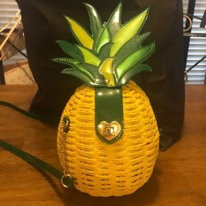 Betsey Johnson LIMITED EDITION Pineapple Purse